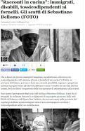"""Il reportage """"Racconti in cucina"""" tratto dall'omonimo libro pubblicato su L'Huffligon Post Italia"""