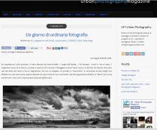 """Reportage """"Un giorno di ordinaria fotografia"""" pubblicato su UP! Urban Photography."""