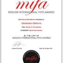 Menzione d'onore - Mifa 2015