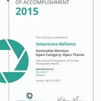 Certificato IPOTY