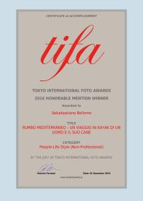 certificato Tifa
